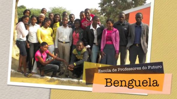 Entrega dos Presentes Solidários 2010 em Angola