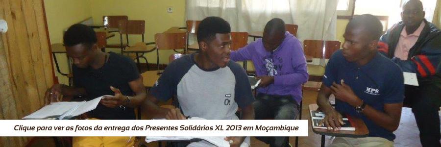 Entrega dos Presentes Solidários 2013 - Moçambique XL