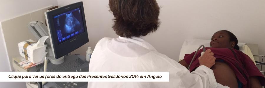 Entrega dos Presentes Solidários 2014 - Angola