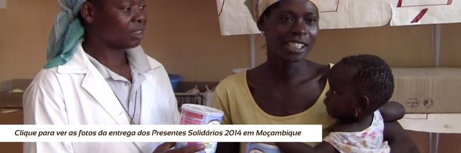 Entrega dos Presentes Solidários 2014 - Moçambique