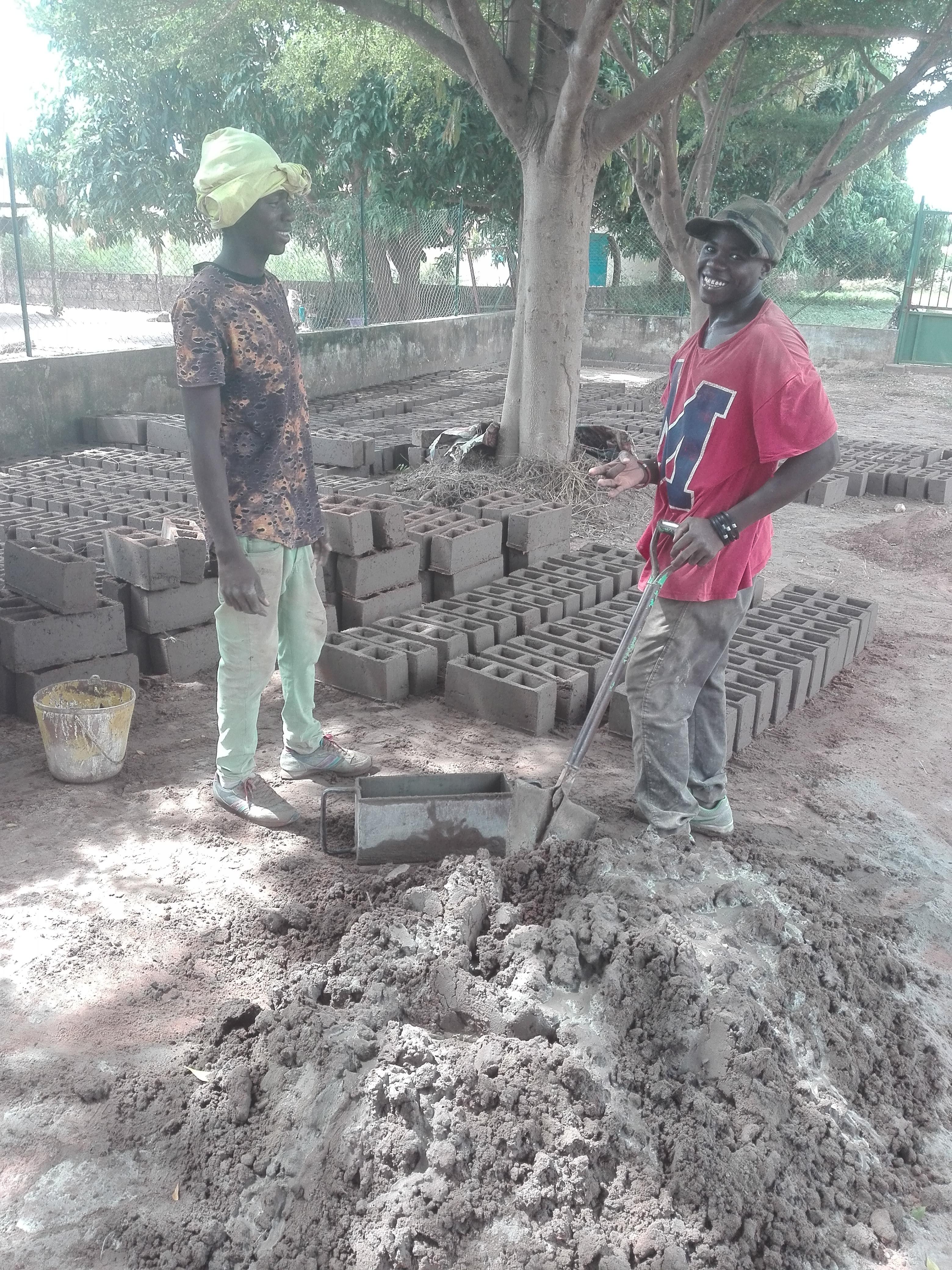 Obras I. Utilização do cimento